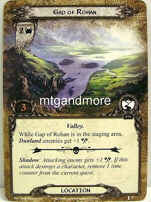 Lord of the Rings LCG  - 1x Gap of Rohan  #020 - The Voice of Isengard