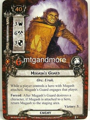Lord of the Rings LCG  - 1x Mugash's Guard  #025 - The Voice of Isengard