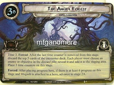Lord of the Rings LCG  - 1x The Angry Forest  #067 - The Voice of Isengard