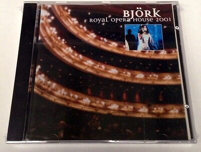BJORK - ROYAL OPERA HOUSE 2001 - CD LIVE LONDON UK 2001 - NO CDr - RARO SEALED