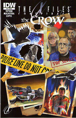 X-FILES/CROW Conspiracy #1 New Bagged
