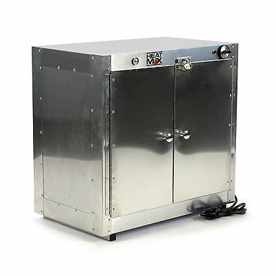 Commercial Countertop Hot Box Food Warmer w/ Water Tray 25x15x24