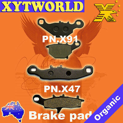 FRONT REAR Brake Pads for Suzuki RM 85 2005-2013