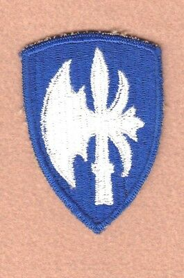 Army Patch: 65th Infantry Division, cut edge, WWII era