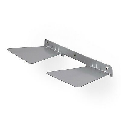 Umbra Conceal Invisible Double Book Shelf - Nickel
