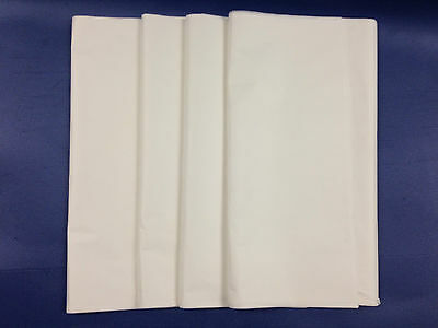 480 SHEETS / 1 REAM WHITE ACID FREE TISSUE PAPER 18GSM 500MM x 750MM + FREE 24H