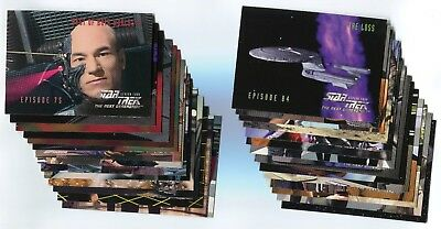 STAR TREK: THE NEXT GENERATION 1996 Season 4 Card LOT!!! NM/M 73 Cards