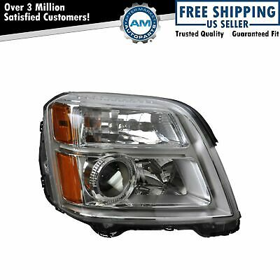 Headlight Headlamp Passenger Side Right Hand RH RF for 10-13 GMC Terrain
