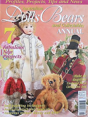 Australian Dolls Bears and Collectables Magazine Vol 12 No 5