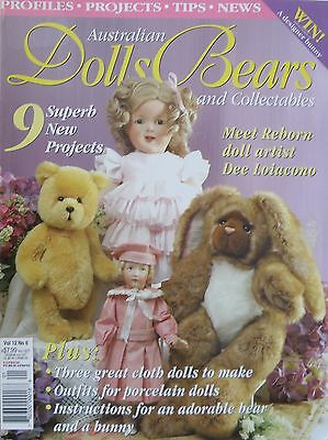 Australian Dolls Bears and Collectables Magazine Vol 12 No 6