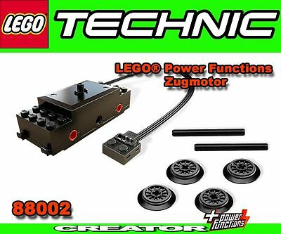 LEGO 88002 Lokmotor Zugmotor City Eisenbahn POWER FUNCTIONS 10233 10219 10194