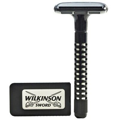 Wilkinson Sword Safety Razor and Blades Double Edge DE