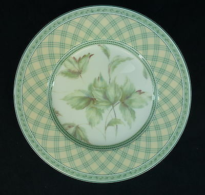Monterey Fitz and Floyd China Salad Plate Collage Classic Choices Green Multiple
