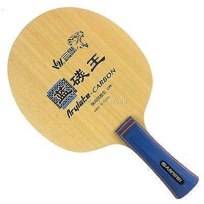 Sanwei F3 Arylate Carbon Table Tennis Ping Pong Blade