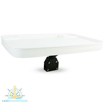Bow Rail Mount Boat Fishing Cutting Bait Board Recessed Tackle/bait/waste Trays