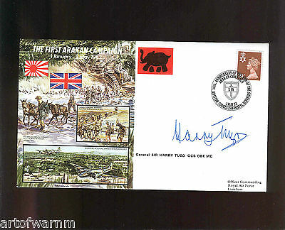 JS50/43/3 FIRST ARAKAN CAMPAIGN 1 Jan - 3 May 1943  signed RAF WW2 comm. cover