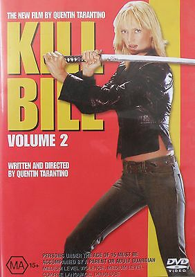 Kill Bill Volume 2 DVD