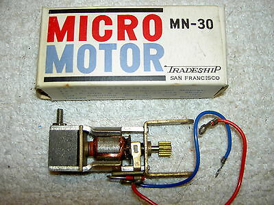 Micro Motor Mn-30 Tradeship Miniature Motor For Models