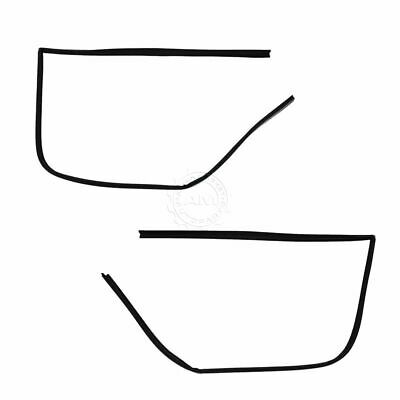 Window Run Channel Weatherstrip Rubber Seal Set of 2 for 79-96 Chevy GMC Van