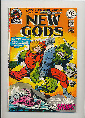 New Gods #5 (1971) Very Fine Plus (8.5) Jack Kirby ~ Young Gods Feature