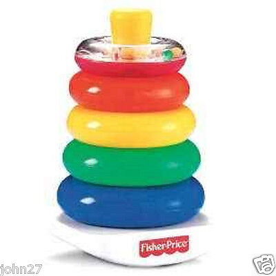 NEW Fisher-Price Brilliant Basics Rock-a-Stack  FREE SHIPPING