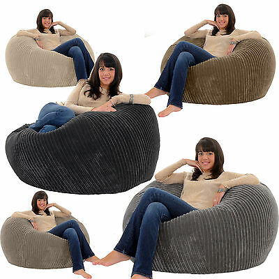Gilda JUMBO CORD Monster Beanbag Chair Giant Big Bean Adult Bag Bags Gamer Seat