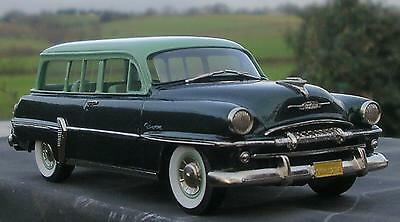 Brooklin Models 1954 Plymouth Belvedere Suburban 2 Tone Green
