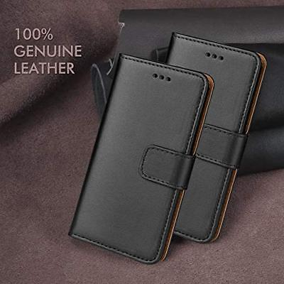 Case for Apple iPhone Phones Cover Real Genuine Leather Flip Wallet