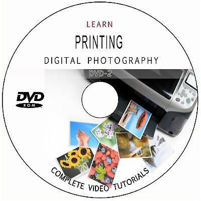 Learn How To Print Digital Photography Inkjet Printing Training Tutorials On Dvd