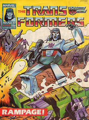TRANSFORMERS #107 - 1987 - Marvel Comics Group UK