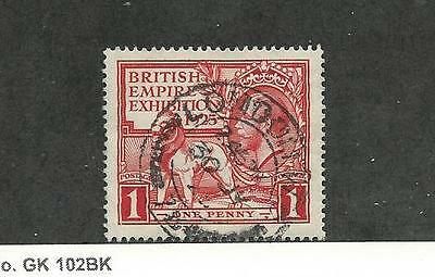 Great Britain, Postage Stamp, #203 VF Used, 1925