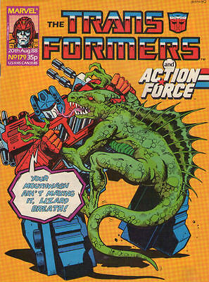TRANSFORMERS #179 - 1988 - Marvel Comics Group UK