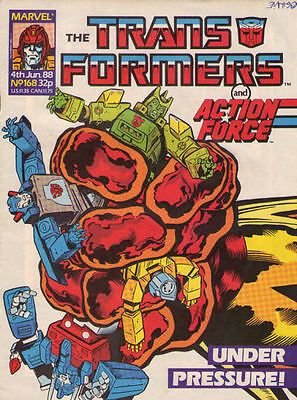 TRANSFORMERS #168 - 1988 - Marvel Comics Group UK
