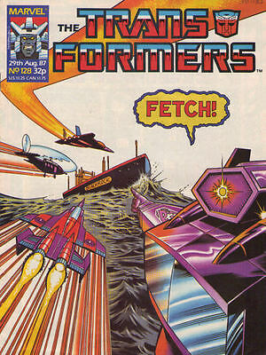 TRANSFORMERS #128 - 1987 - Marvel Comics Group UK