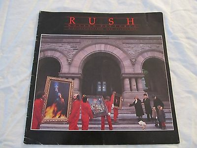 RUSH 1981 Moving Pictures Concert Tour Program Book!!!