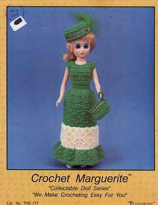 """Parisian Belle 15/"""" Doll Outfit Td Creations Crochet PATTERN//INSTRUCTIONS"""