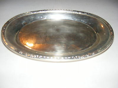 """International Silver Company Camille 6029 Silver Plated 9"""" Dish Tray"""
