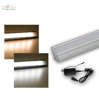 LED Listello LUMINOSO IN ALLUMINIO Set incluso trasformatore