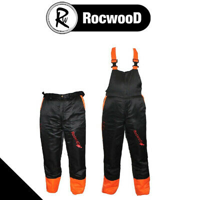 Chainsaw Safety Forestry Trousers Or Bib & Brace Ideal For Active Users