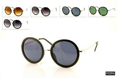 New Vintage Round Circle John Lennon Retro Classic Style Sunglasses Men & Women.