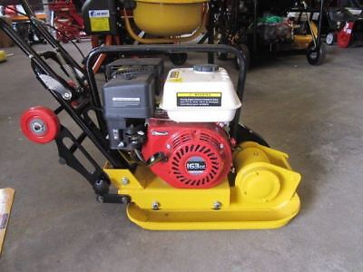 WACKER PLATE.5.5hp PETROL ENGINE COMPACTOR PLATE WITH WHEEL KIT