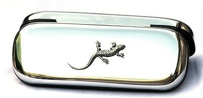 Lizard Gecko Glasses Spectacle Case Reptile Gift FREE ENGRAVING