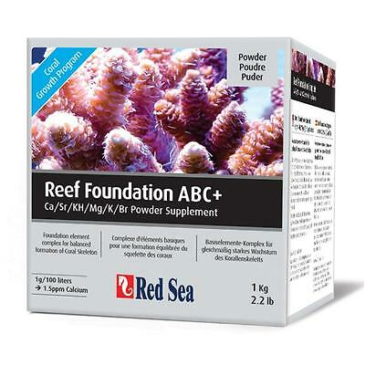 Red Sea Reef Foundation ABC+ Complete Powder Supplement Marine Treatment 1KG 5KG