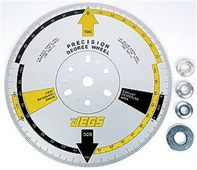 JEGS Performance Products 81622 Precision Cam Degree Wheel 11""