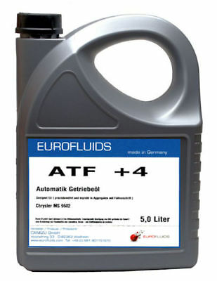 Automatik Getriebe Öl ATF +4 Chrysler MS-9602 Jeep Dodge Plymouth Eagle / 5 ltr