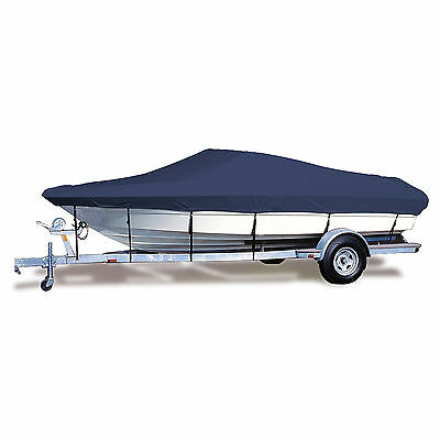 Boat Cover 20' 21' 22' Fishing Ski Boat Runabout Cover Heavy Duty Weather Proof