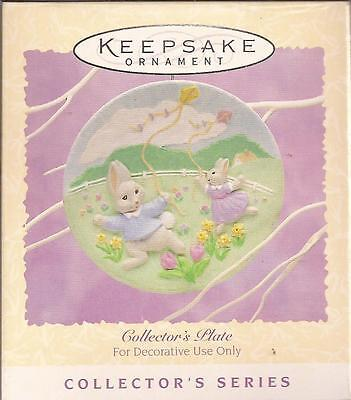 "Hallmark 1995 ""COLLECTOR'S PLATE""      Spring - Easter      **NEW**  Ornament"