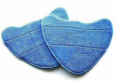 2 x Vax S2S S2ST S2C  Cleaning Pads For Bare Floor Pro Steam Cleaner Mops