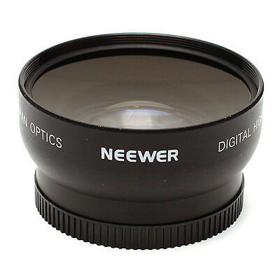 2X 52mm 0.45x Wide Angle + Macro Conversion Lens 0.45x 52