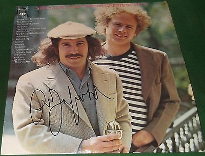 Art Garfunkel Signed Simon & Garfunkel's Greatest Hits Album LP JSA COA